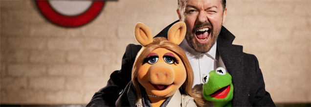 Ricky Gervais, Muppets: Most Wanted