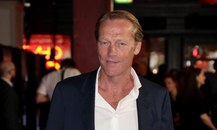 Iain Glen on the red carpet in London