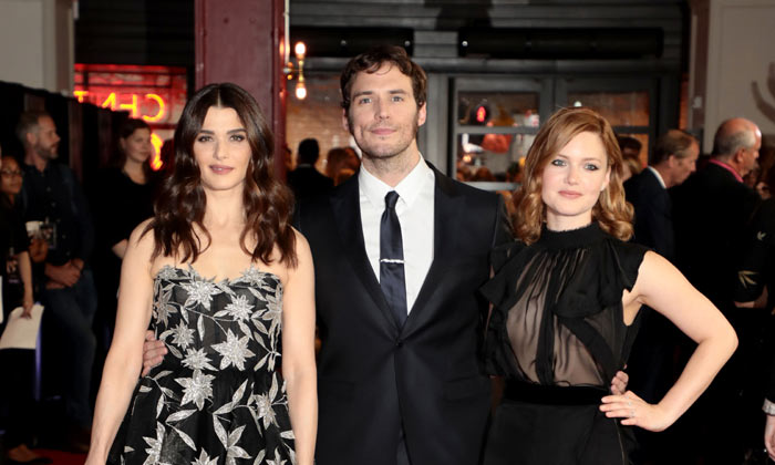 Rachel Weisz, Sam Claflin and Holliday Grainger at 'My Cousin Rachel' premiere
