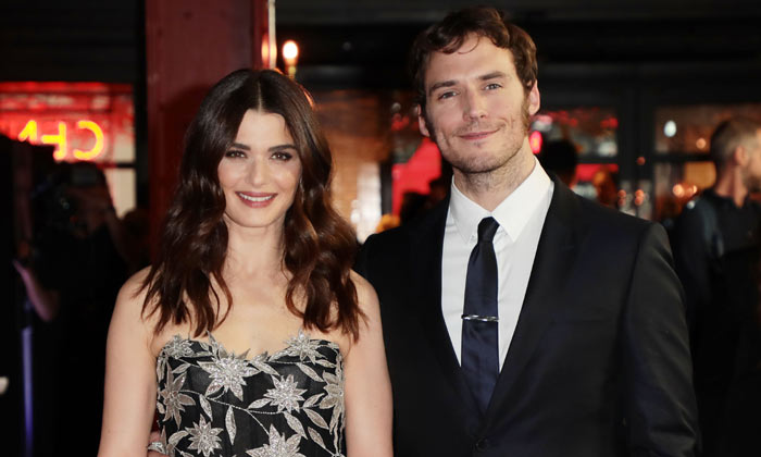 Rachel Weisz and Sam Claflin at the London premiere