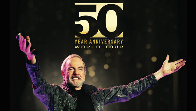 Neil Diamond celebrates 50 years in the music business