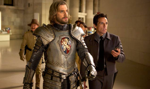 Ben Stiller And Dan Stevens In 'Night At The Museum: Secret Of The Tomb'