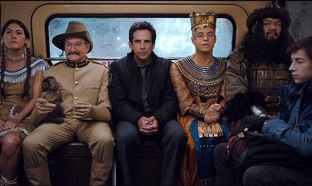Ben Stiller And Robin Williams Star In 'Night At The Museum: Secret Of The Tomb'