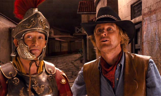 Steve Coogan and Owen Wilson in 'Night At The Museum 3'