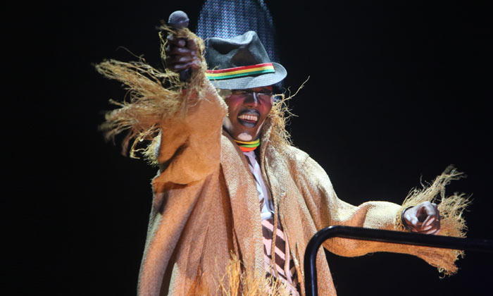 Grace Jones performs at North Sea Jazz Festival 2017