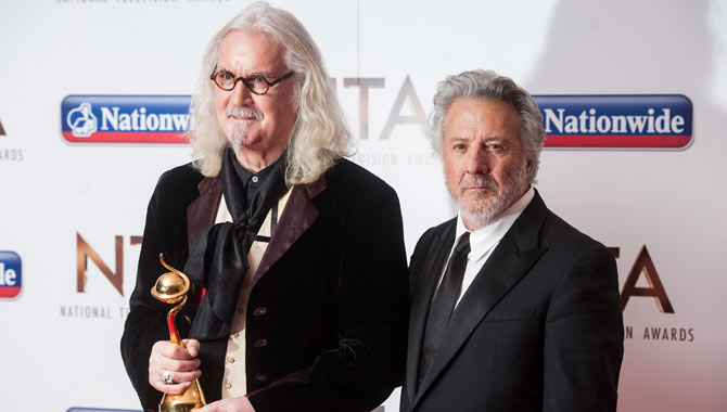 Billy Connolly Receives Special Recognition At National Television Awards 2016