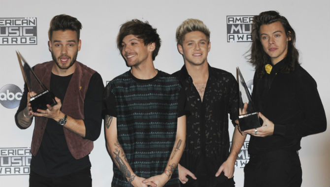 One Direction Top List Of Highest Earning Celebrities In Europe