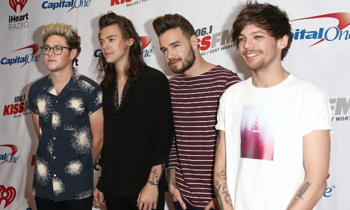 One Direction at 106.1 KISS FM's Jingle Ball 2015 / Photo Credit: Debby Wong/Zuma Press/PA Images
