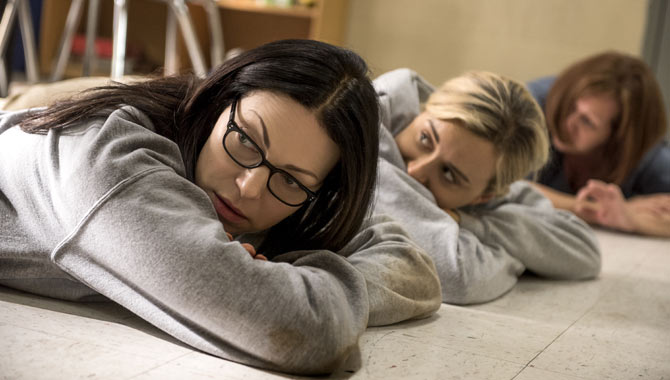 Laura Prepon and Taylor Schilling return for 'Orange is the New Black'