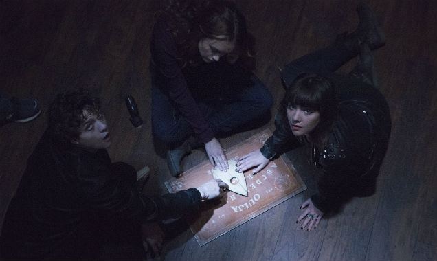 Olivia Cooke, Douglas Smith and Ana Coto in 'Ouija'