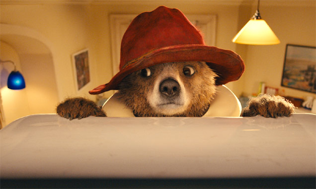 Ben Whishaw lends his voice to the young bear, Paddington