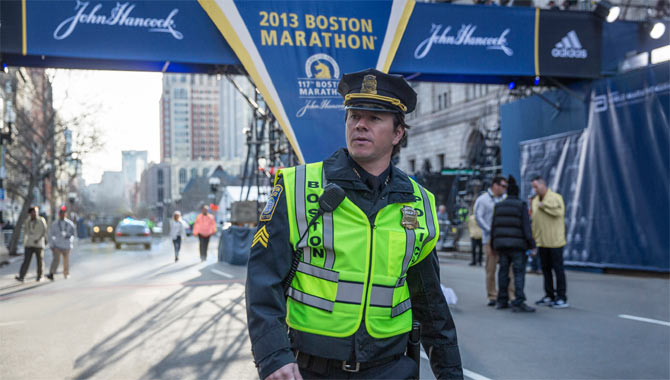 Mark Wahlberg stars in Patriots Day