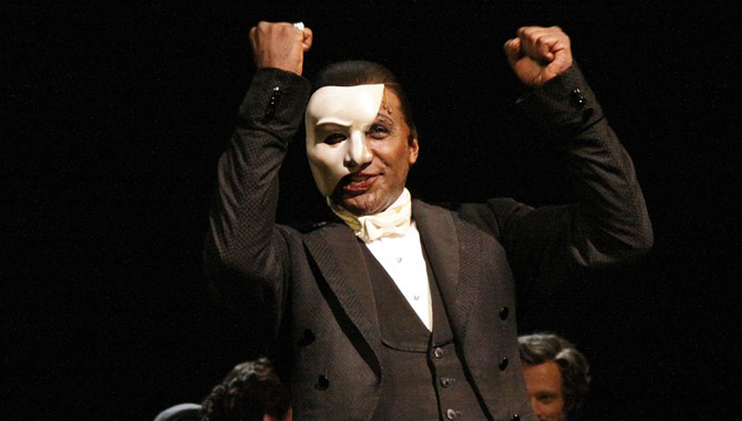 Norm Lewis in The Phantom of the Opera
