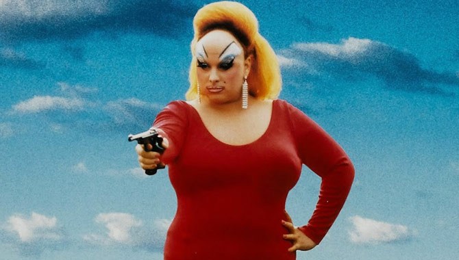 'Pink Flamingos' was the legendary collaboration between Divine and John Waters