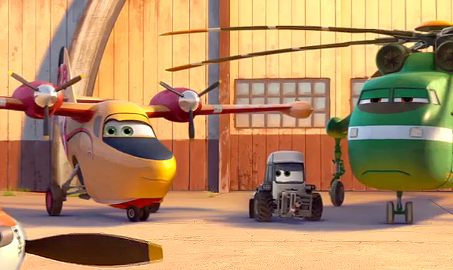 Planes: Fire and Rescue characters