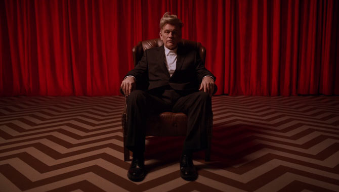 John Malkovich as David Lynch