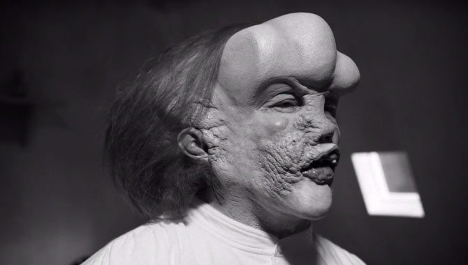 John Malkovich as the Elephant Man