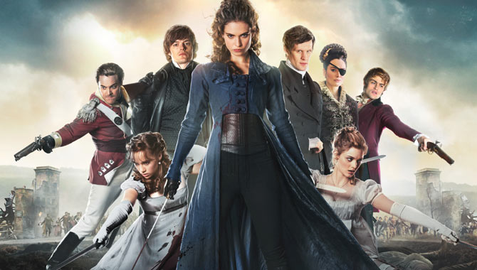 Pride And Prejudice And Zombies Was A New Kind Of Costume Drama For Lily James