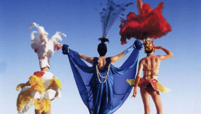 'Priscilla, Queen of the Desert' went on to become a stage phenomenon