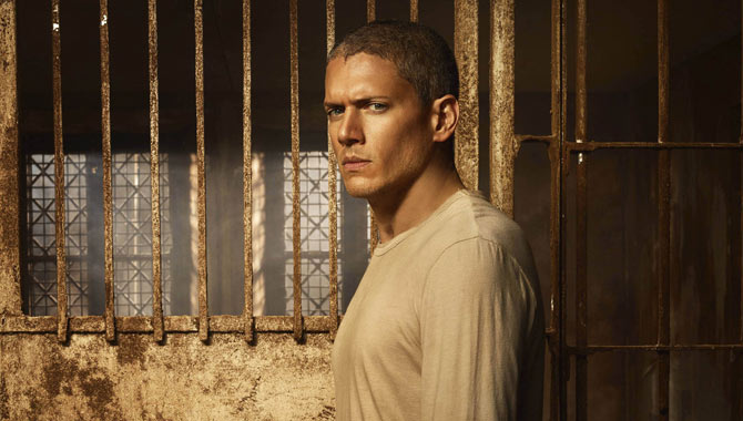 Wentworth Miller as Michael Scofield in 'Prison Break' / Cr: Brendan Meadows