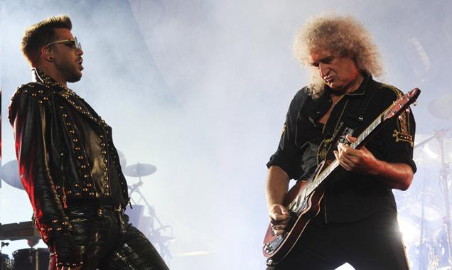 Adam Lambert Brian May