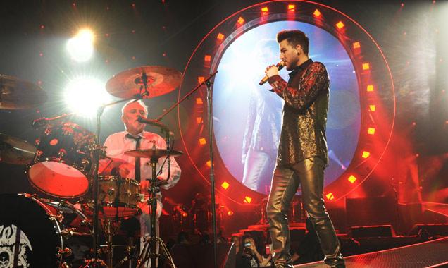 Adam Lambert Roger Taylor