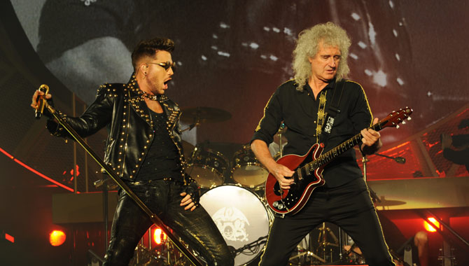 Queen and Adam Lambert are coming to Europe
