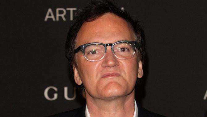 Quentin Tarantino in 2014