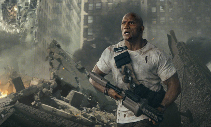 Dwayne Johnson leads the charge in 'Rampage'