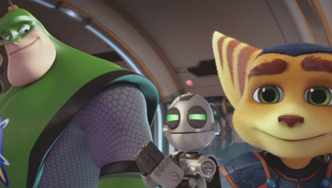 'Ratchet & Clank' About To Kick Some Alien Asteroid On The Big Screen - Trailer + Pictures
