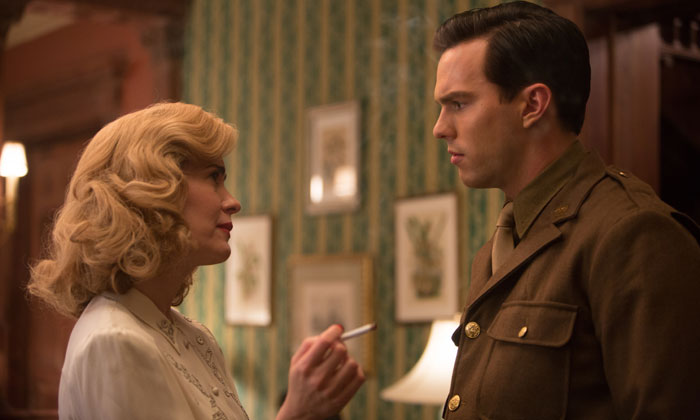 Nicholas Hoult and Sarah Paulson star in 'Rebel in the Rye'