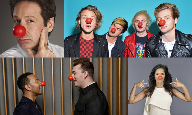 Red Nose Day America Is Here! And These Stars Are Rocking The Look [Photos]