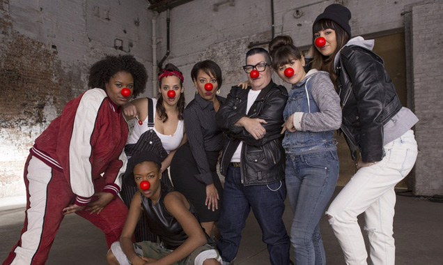 Orange Is The New Black cast on Red Nose Day