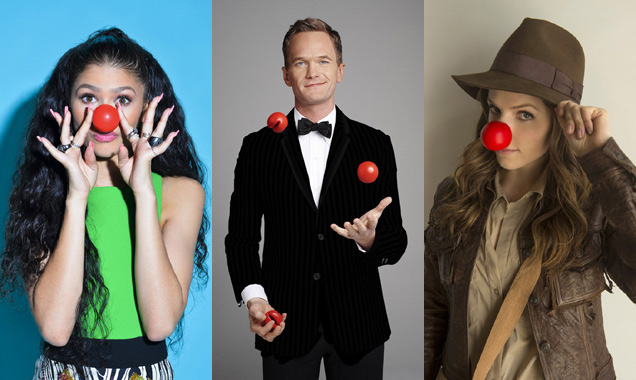 Zendaya, Neil Patrick Harris and Anna Kendrick on Red Nose Day