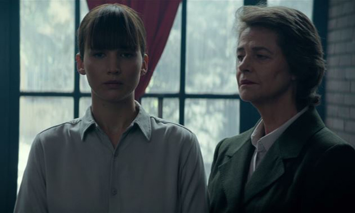 Jennifer Lawrence and Charlotte Rampling star in 'Red Sparrow'