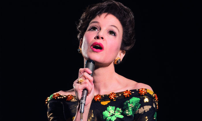 Renée Zellweger returns to music as she takes on lead role in Judy Garland biopic