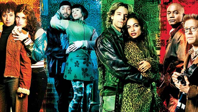 Idina Menzel starred in 'Rent'
