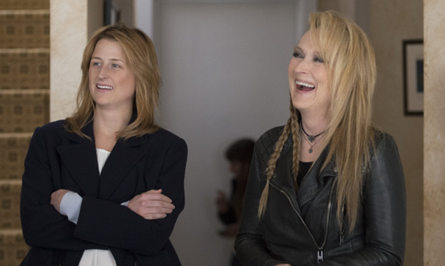 Meryl Streep and Mamie Gummer in Ricki and the Flash