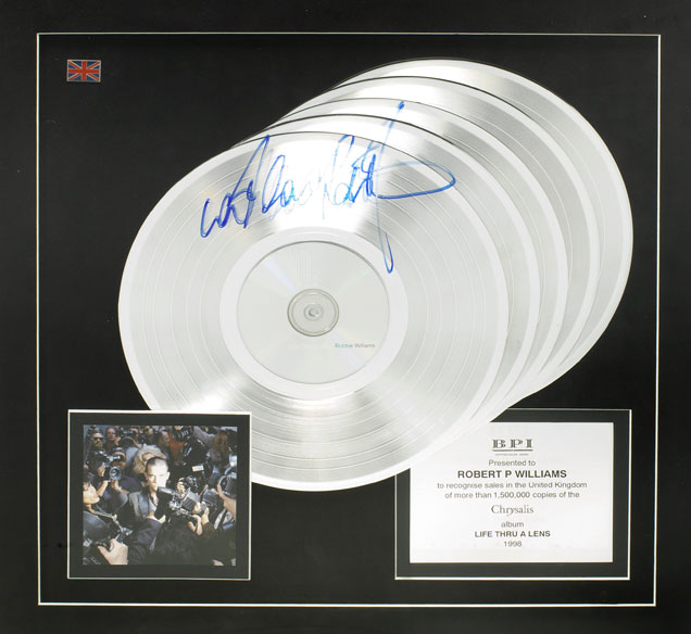 Robbie Williams charity auction 3