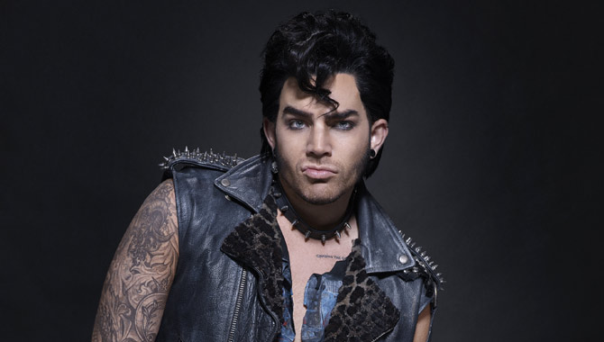 First Look At Adam Lambert In Fox's 'The Rocky Horror Picture Show'