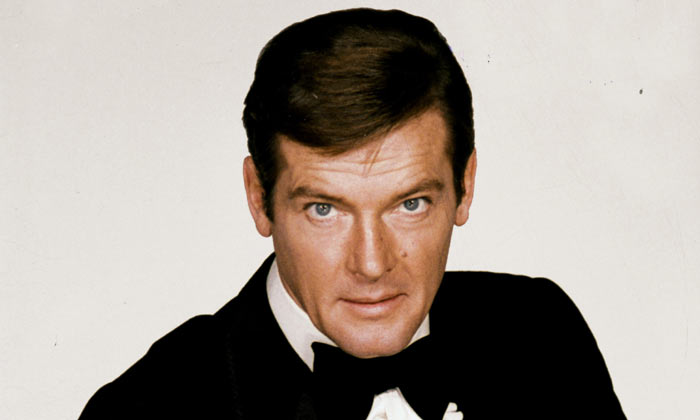 Sir Roger Moore played James Bond over seven movies