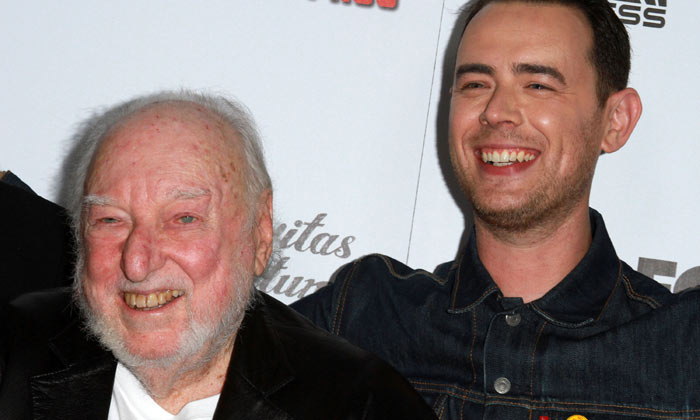 Russ Solomon and Colin Hanks at 'All Things Must Pass' premiere
