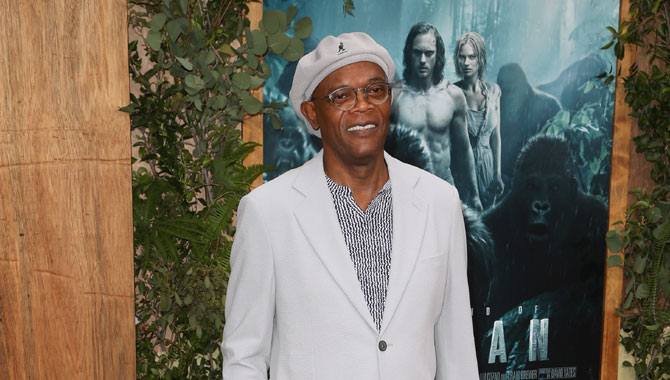 With Cell And Tarzan, Samuel L. Jackson Loves His Life