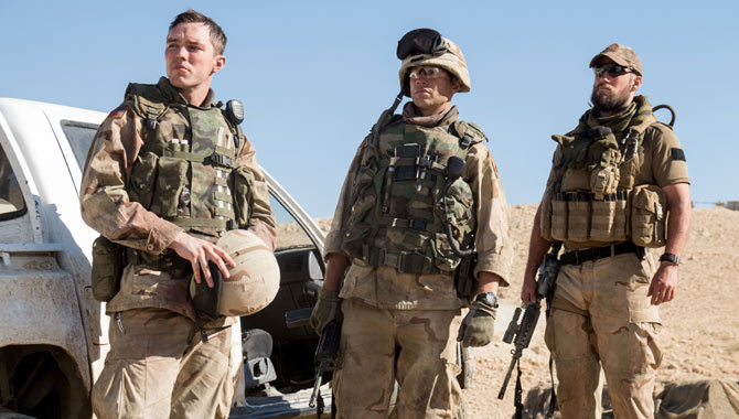 Netflix Explores Iraq War With 'Sand Castle' Starring Nicholas Hoult