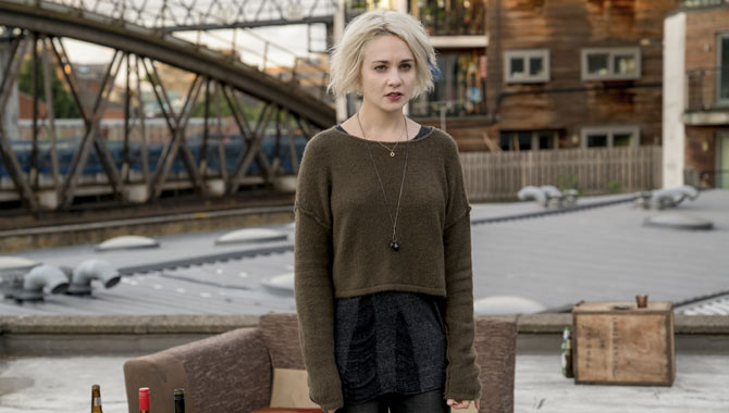 Tuppence Middleton made her return for the show's second season