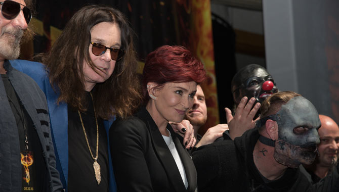 Ozzy Osbourne Reunites With Sharon For Painfully Awkward Press Conference
