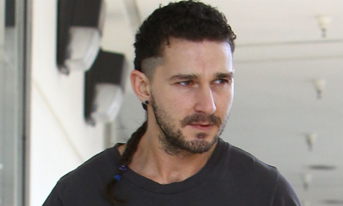 Shia LaBeouf in Studio City in 2015