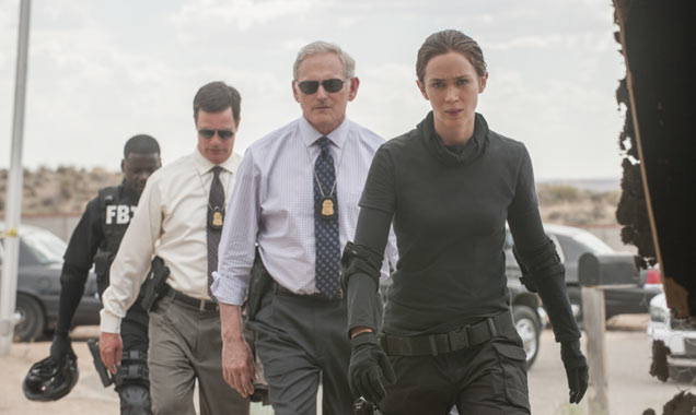 Emily Blunt and others in Sicario