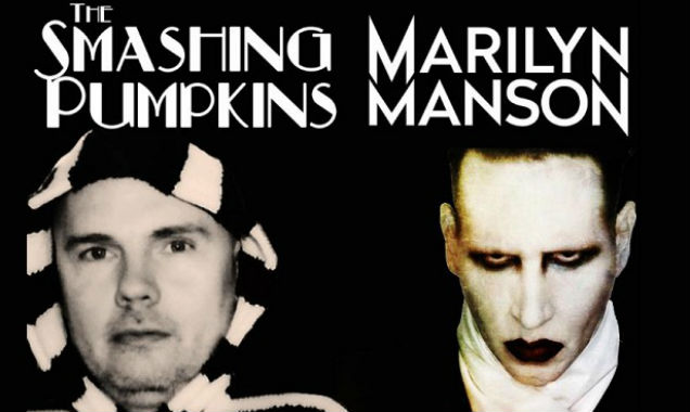 The Smashing Pumpkins and Marilyn Manson promo