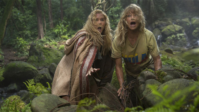 Amy Schumer And Goldie Hawn Found A Shared Sense Of Humour